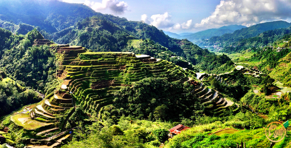 The 2000 year old terraces  were carved into the mountains of Ifugao by ancestors of the indigenous people.
