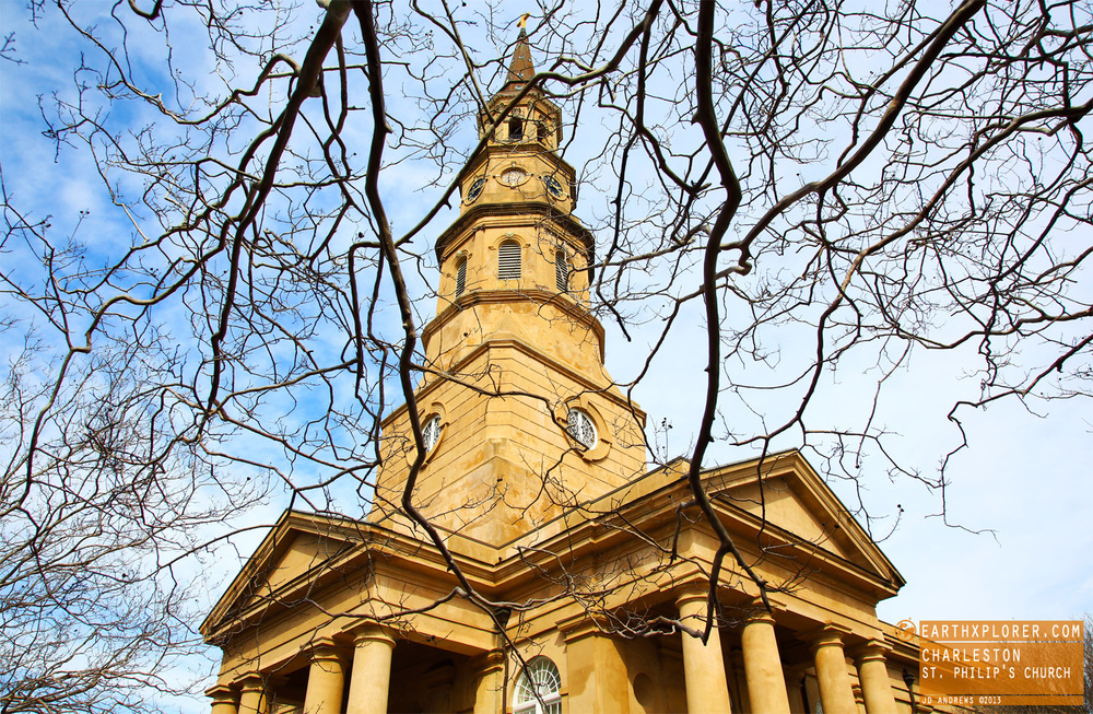 The Church was constructed from 1835 to 1838 by architect Joseph Hyde . The steeple was designed by E.B. White and wasn't added  until a decade later.