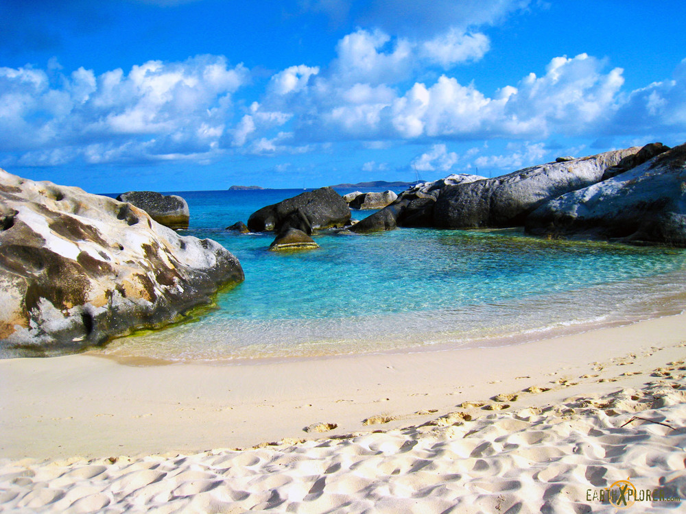 The Baths in the Virgin Islands