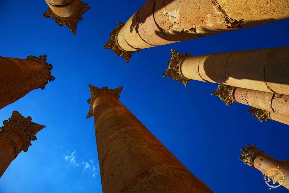 Pillars in Gerasa Jordan.jpg