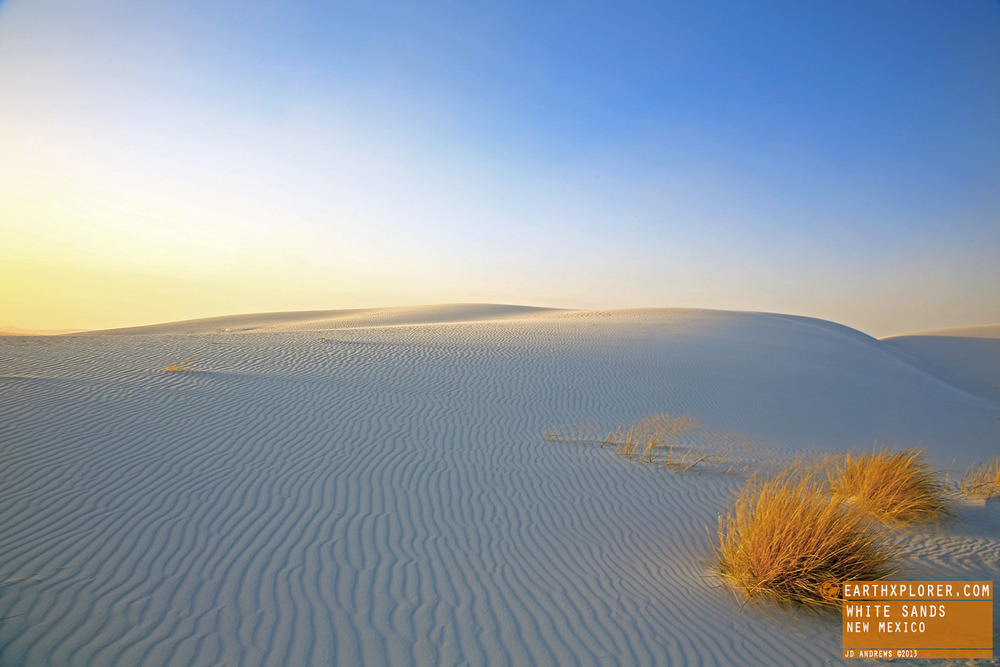 The White Sands National Monument