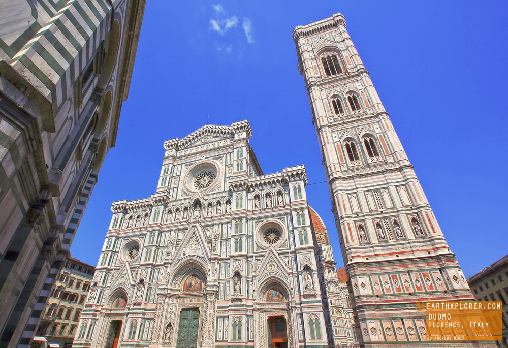 The Basilica di Santa Maria del Fiore is the main church of Florence, Italy.