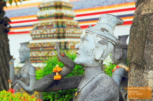 Wat Pho is named after a monastery in India where Buddha is believed to have lived.
