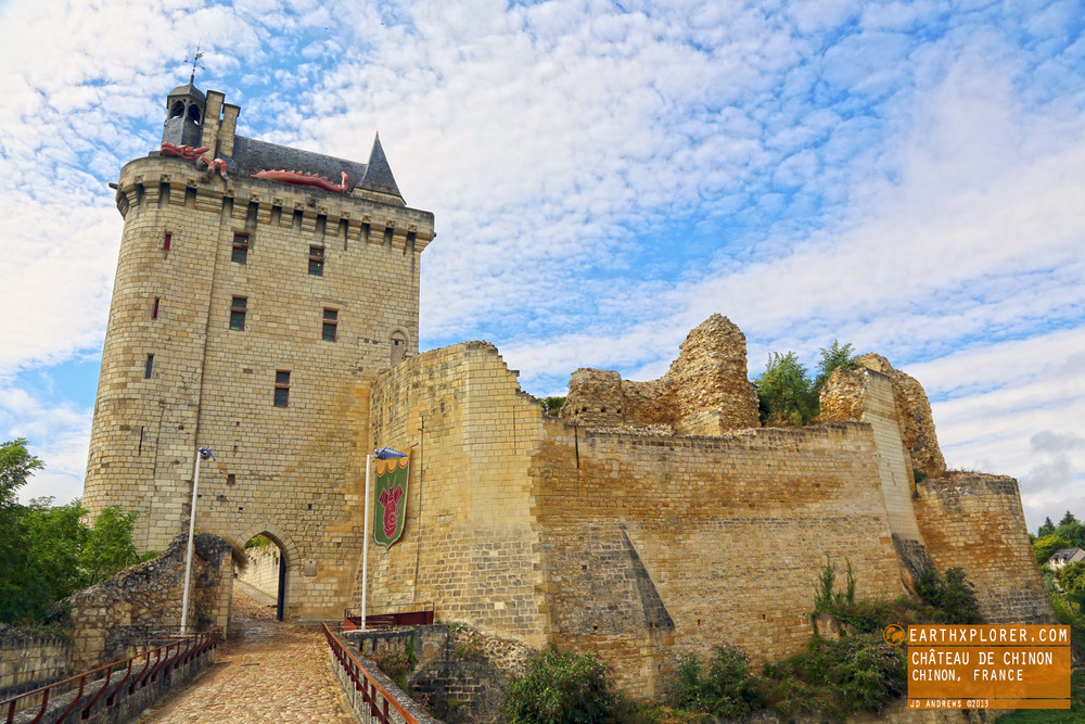 March 6th 1429, Joan of Arc arrived at Château de Chinon. She claimed to hear heavenly voices that said Charles would grant her an army.