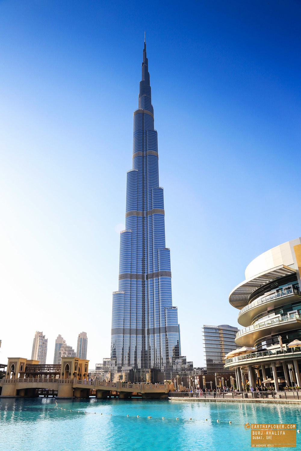 The Tallest Building In The World Burj Khalifa In Dubai