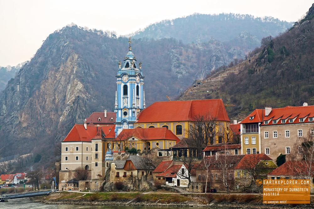 Durnstein Austria  city photos gallery : The Monastery of Durnstein Austria — earthXplorer adventure travel ...