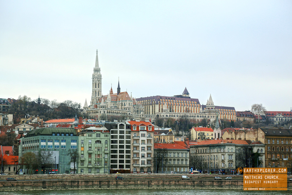 The Matthias Church is located in the centre of the Buda Castle district, beside the Halászbástya.