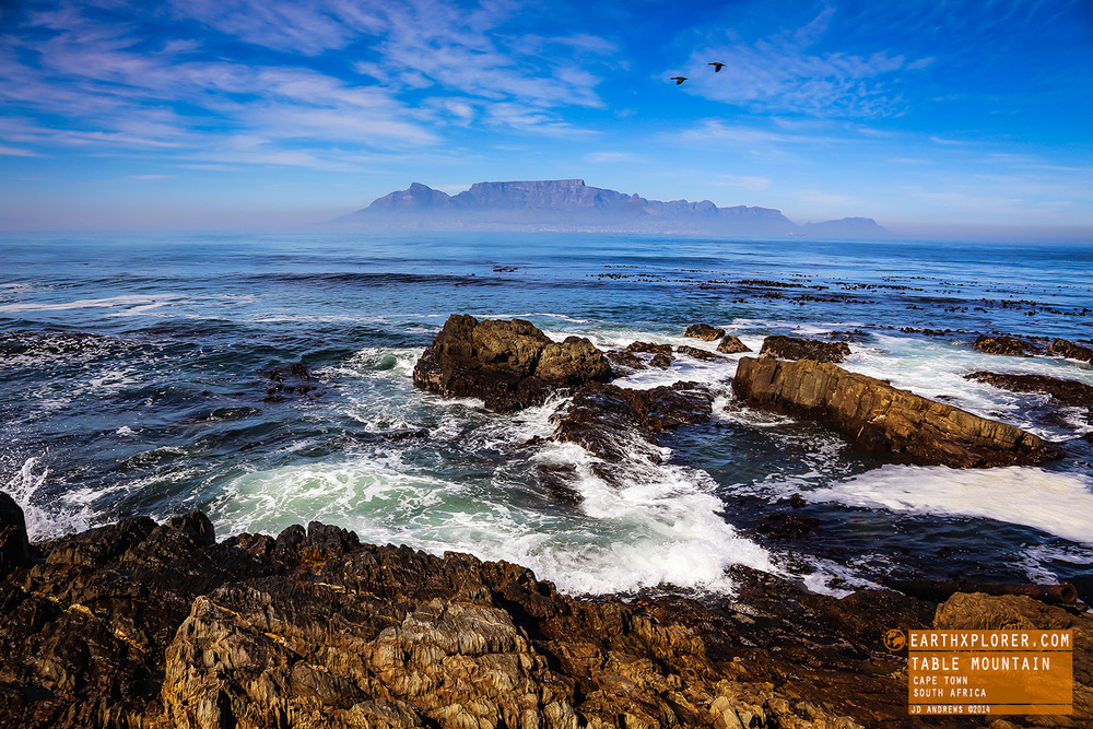 View of Table Mountain from Robben Island Cape Town South Africa.jpg