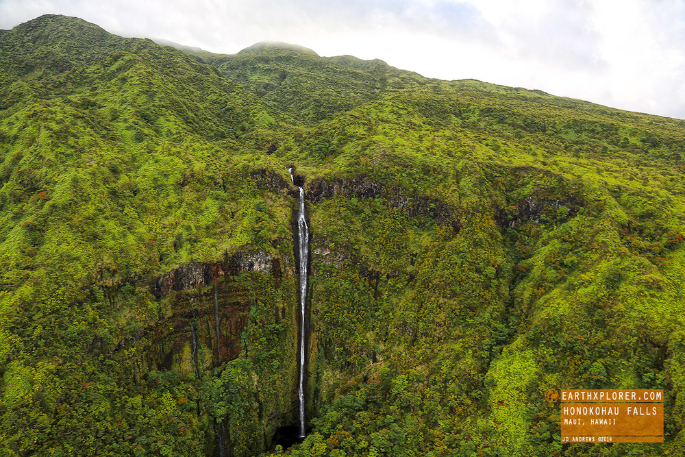 Honokohau Falls - The tallest waterfall on Maui