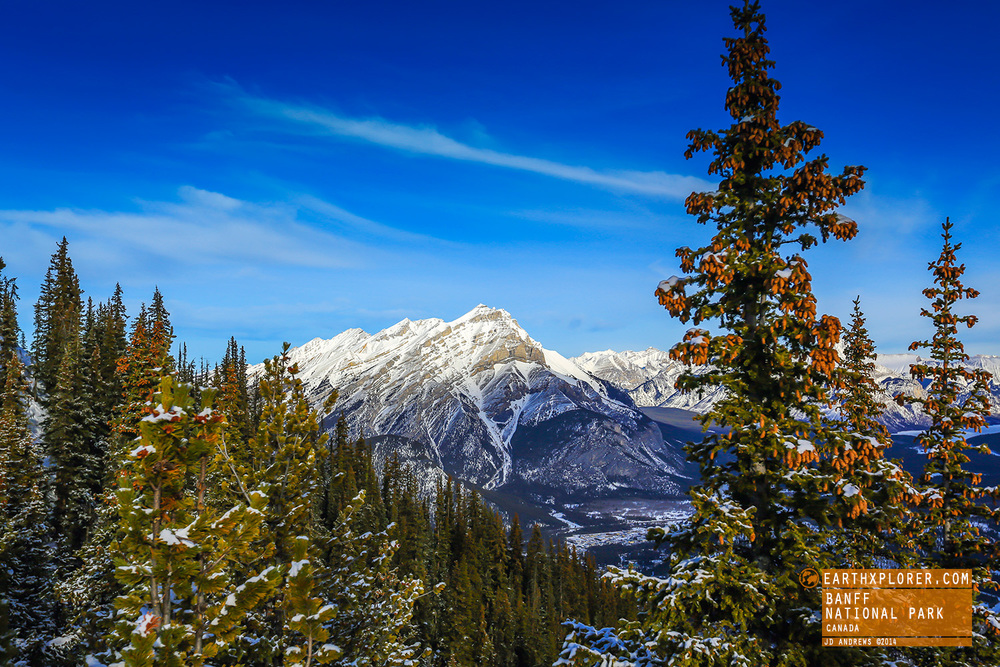 To get this view, take the Sightseeing Gondola. It's located just 5 minutes from the Town of Banff.