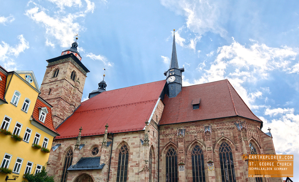 St. George's Church - Schmalkalden Germany