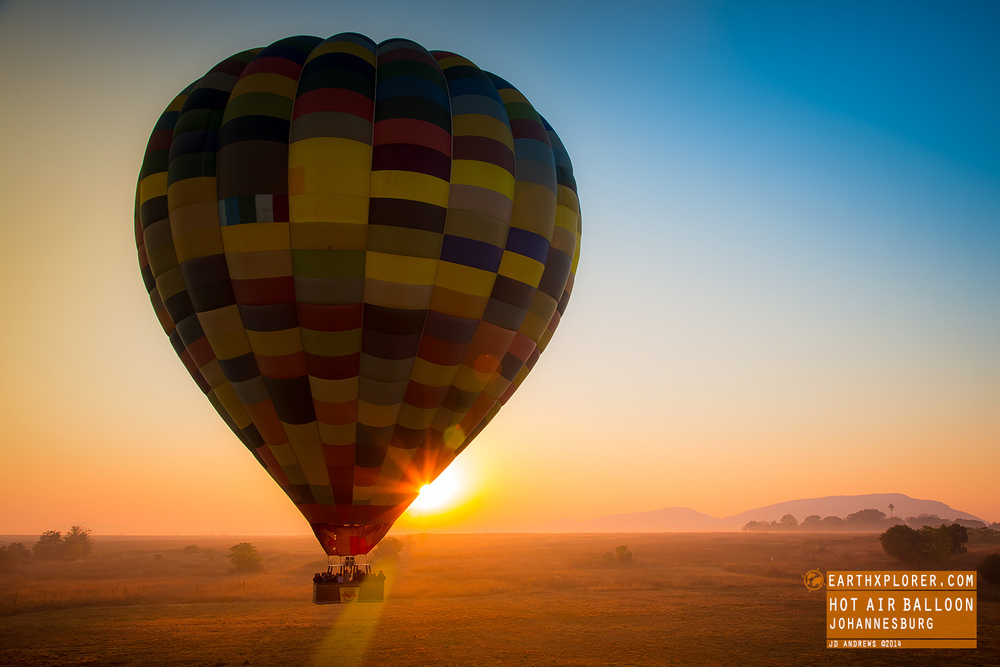 Thanks to Bill Harrop's  'Original'  Balloon Safaris