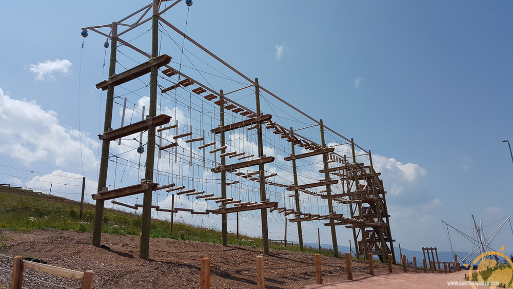 Vail Mountain's High Ropes Challenge Courses