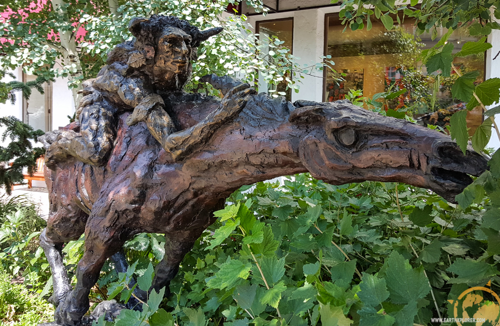 Detailed statues are everywhere in Vail