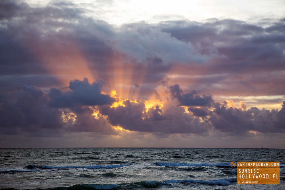 Sunrise at Hollywood Beach Florida.jpg