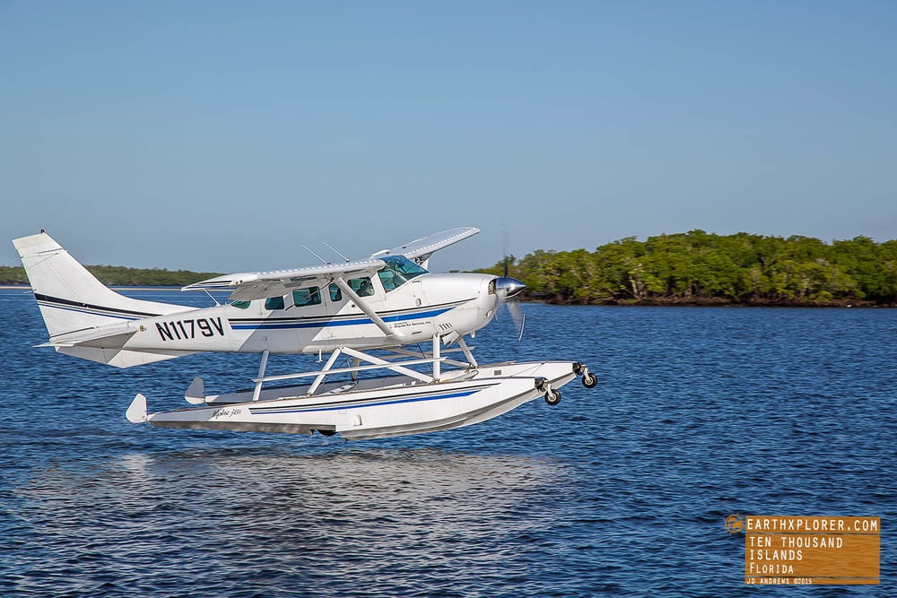 Seaplane Landing The Ten Thousand Islands Florida copy.jpg