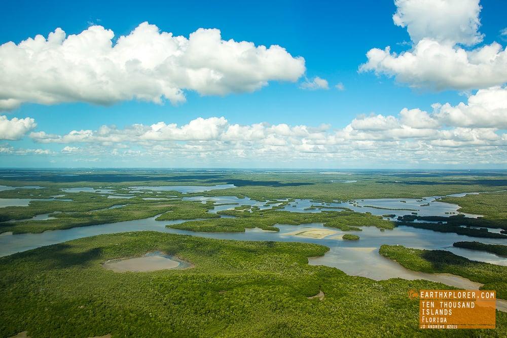 Seaplane Over The Ten Thousand Islands Florida.jpg