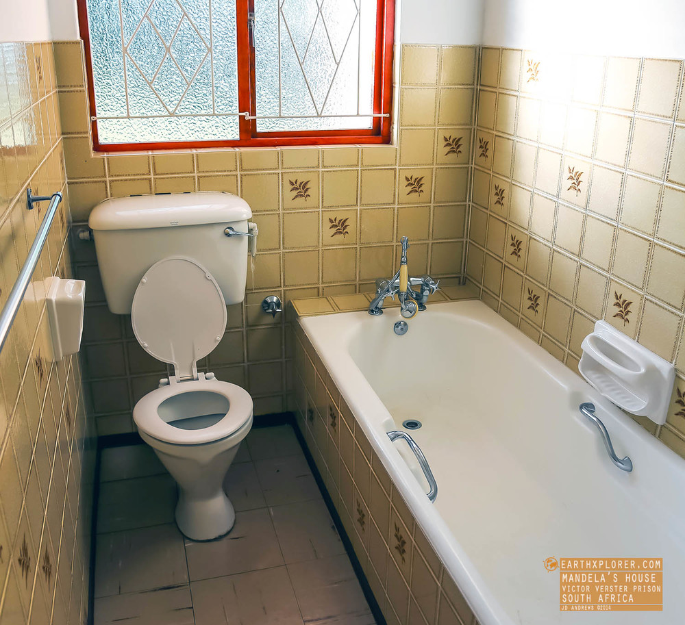 Bathroom Mandelas House Victor Verster Prison South Africa.jpg