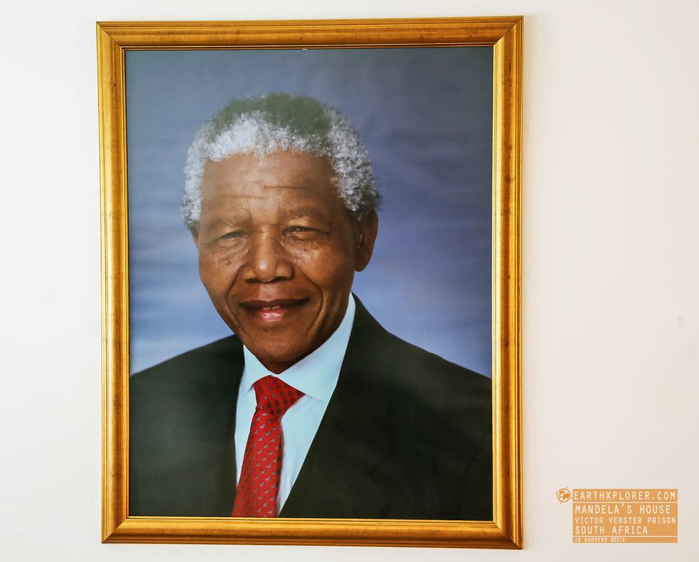 Painting Mandelas House Victor Verster Prison South Africa.jpg