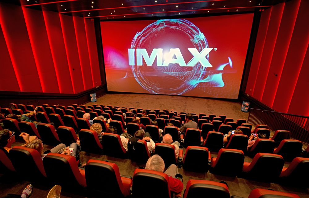 The first and ONLY IMAX theater at sea