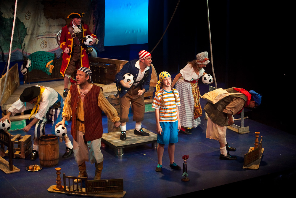 How I Became A Pirate - Stage Manager