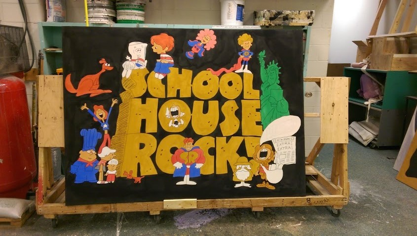 Schoolhouse Rock JR - Scenic Designer