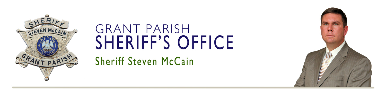 Grant Parish Sheriff's Office - Sheriff Steven McCain