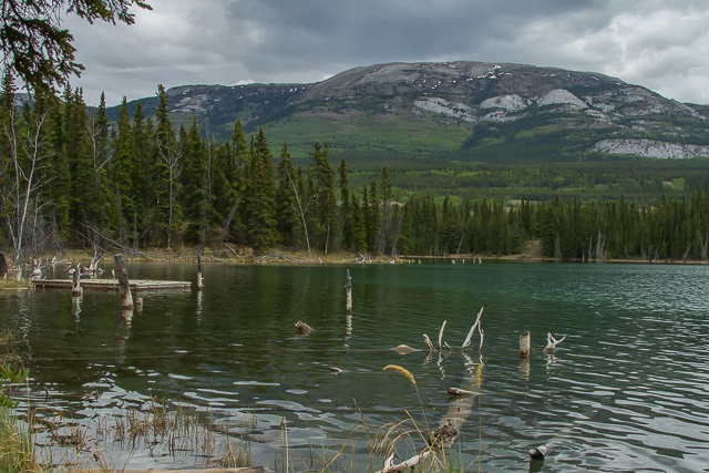 Chadburn Lake, Yukon, Canon 7D with Canon EF 28-300mm @ 28mm, 1/320s @ f/8, ISO 1600