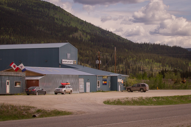 Dawson City, Yukon, Canon 7D with Canon EF 28-300mm @ 28mm, 1/100s @ f/16, ISO 100