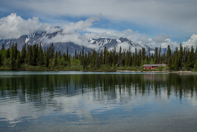 Kathleen Lake, Kluane National Park, Yukon, Canon 7D with Canon EF 28-300mm @ 28mm, 1/160s @ f/16, ISO 100