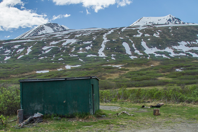 """Ptarmigan Hut"", Haines Road, Alaska, Canon 7D with Canon EF 28-300mm @ 28mm, 1/400s @ f/16, ISO 100"