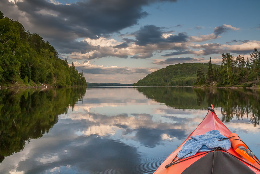 Algonquin Provincial Park, Ontario, Canada. Where will I kayak this year?