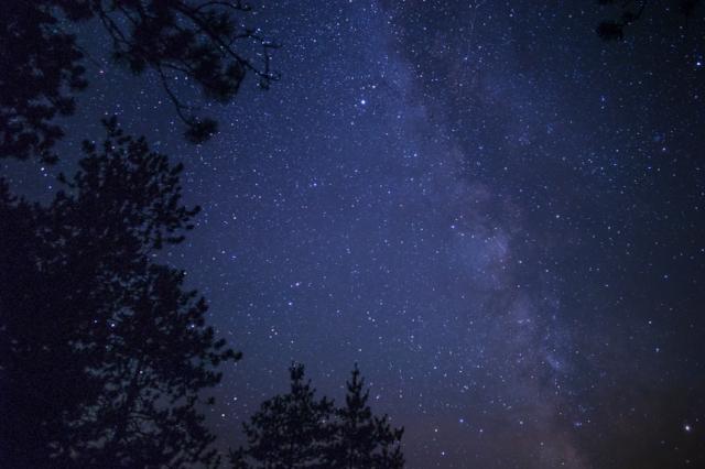 Milky Way over Norway Lake, Algonquin Provincial Park, Ontario, Canada