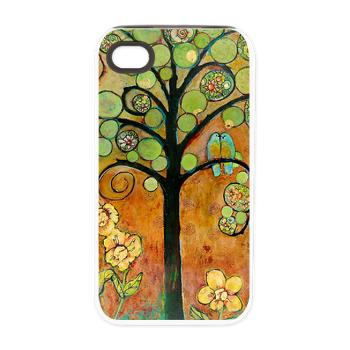 Paradise Birds iPhone 4/4S Tough Case