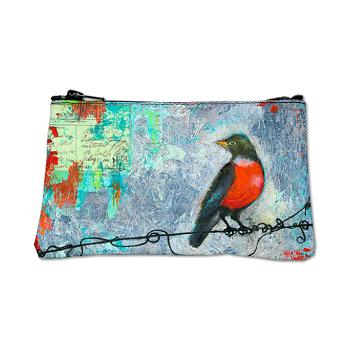 Robin on Wire Coin Purse $34.50