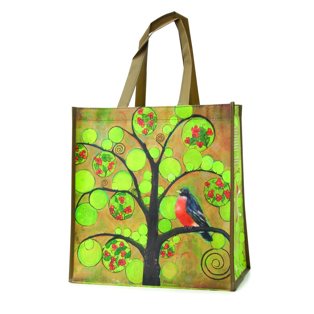 Market of Choice art bag by Blenda Tyvoll