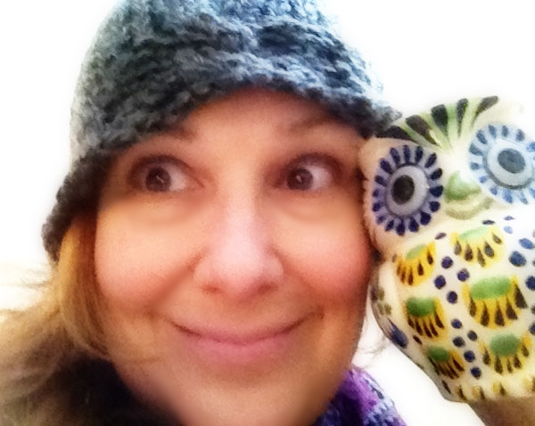 My best owl eyes to match a new favorite gift coffee mug from my daughter. This is the matching mug in the photo above. From Anthropology.