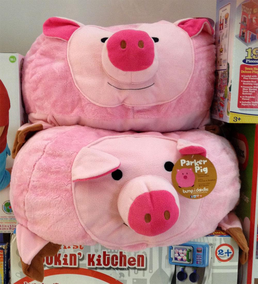 Bubble gum pink piggies