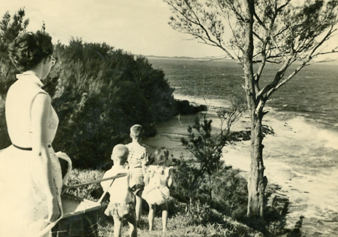 Overlooking the Indian Ocean Madagascar 1950s