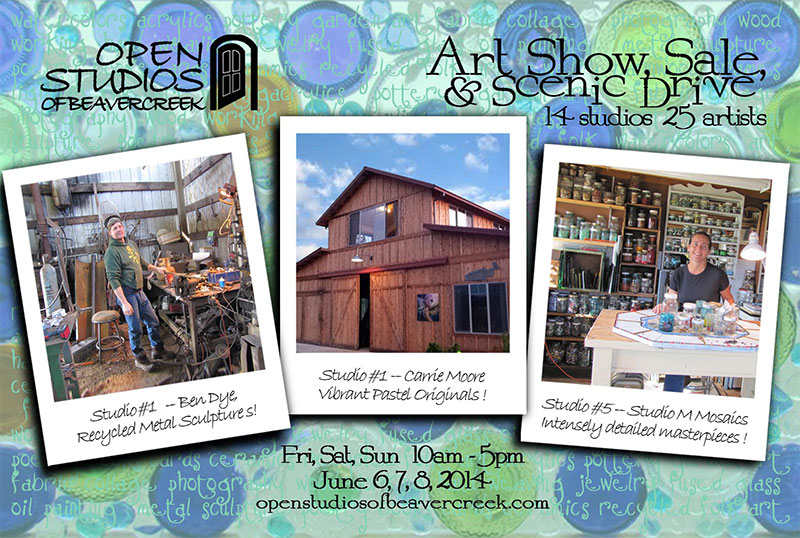 Open Studios of Beavercreek Tour June 2014