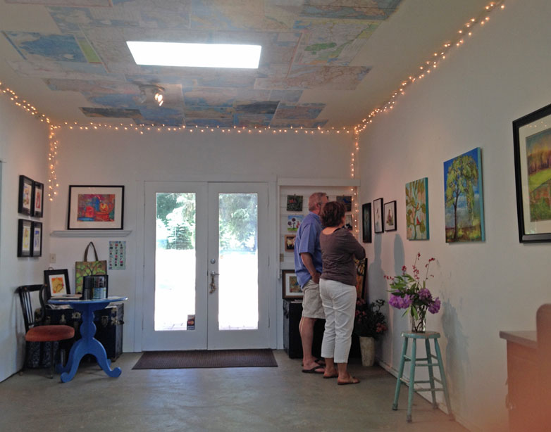 June Open Studio Tour at Blenda Studio