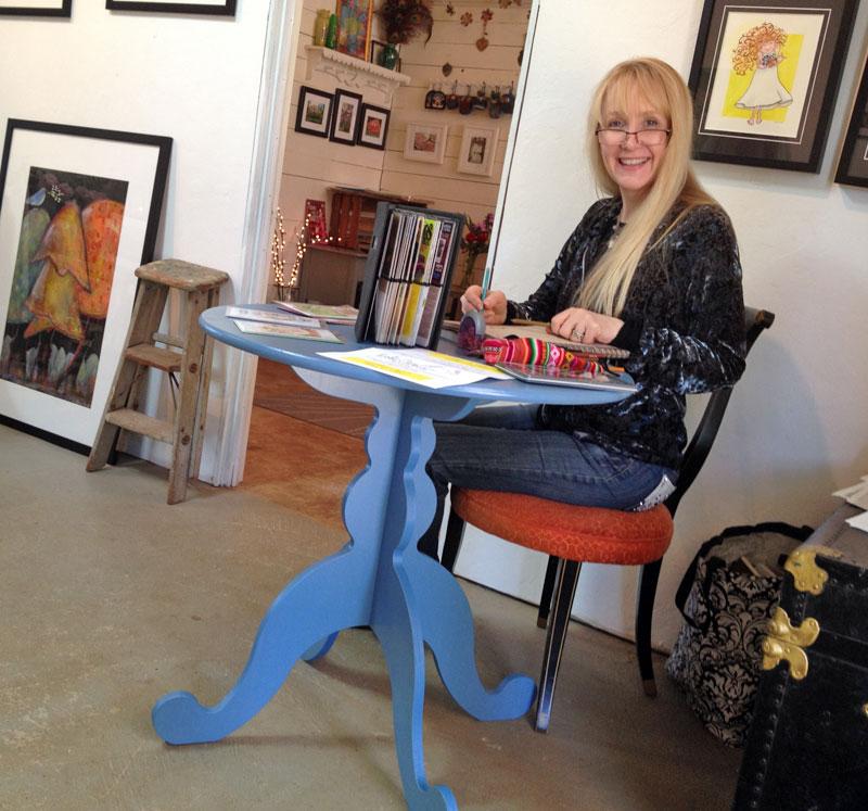Artist Krista Cary