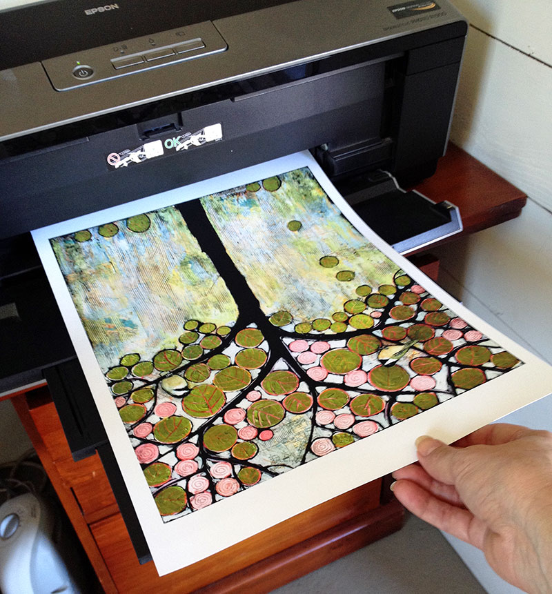 Printer and print