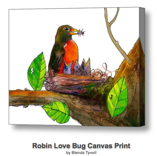 Robin Love Bug
