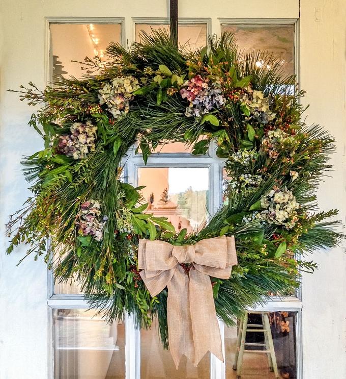 Christmas Wreath Victorhill Farm