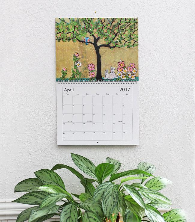 2017 blenda studio calendar