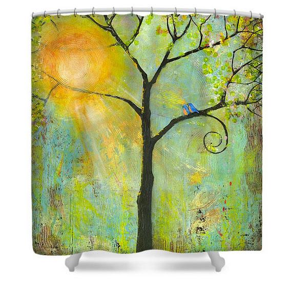 Hello Sunshine Shower Curtain ...
