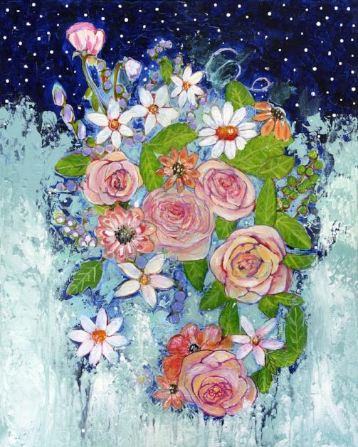 Celestial Sky Garden by Blenda Tyvoll