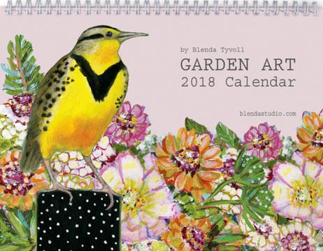 2018 Garden Art Calendar