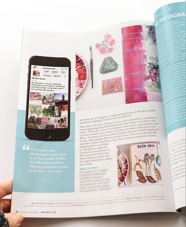 Professional Artist's Magazine